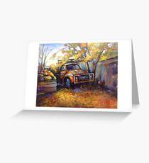Autumn in Bacchus Marsh (Victoria) Australia Greeting Card