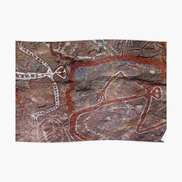 Kakadu Rock Art #3 Poster