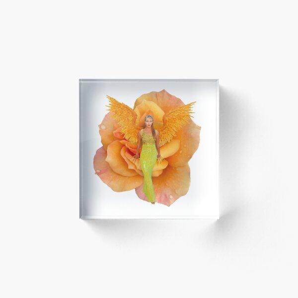 """""""Blossom Fairy"""" Acrylic Block"""