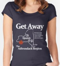 Get Away To Upstate New York Women's Fitted Scoop T-Shirt