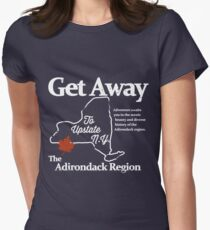 Get Away To Upstate New York Women's Fitted T-Shirt