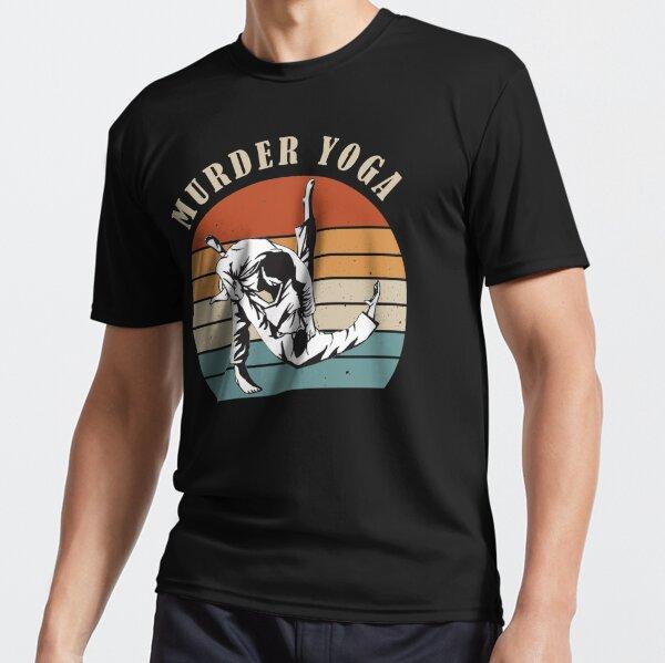 Murder Yoga Vintage Active T-Shirt
