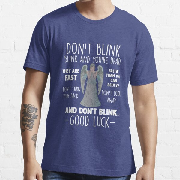 Doctor Who Weeping Angel ne clignent pas des yeux T-shirt essentiel