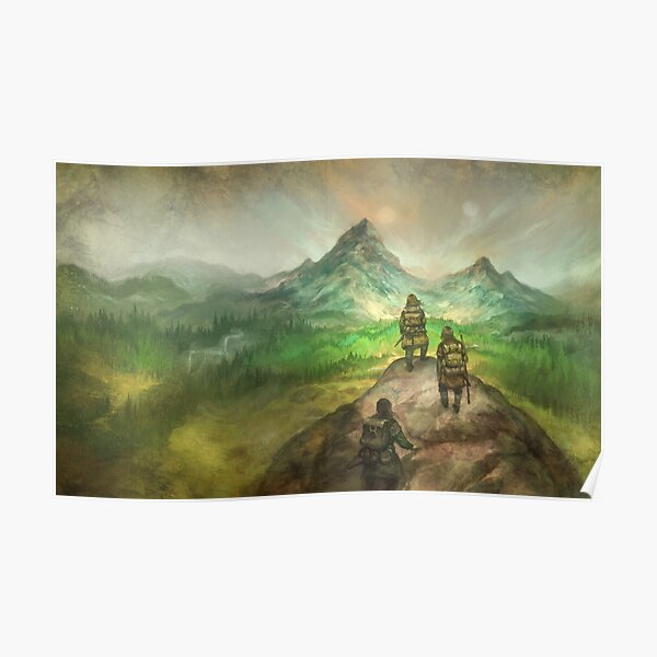 The Hero's Journey Poster