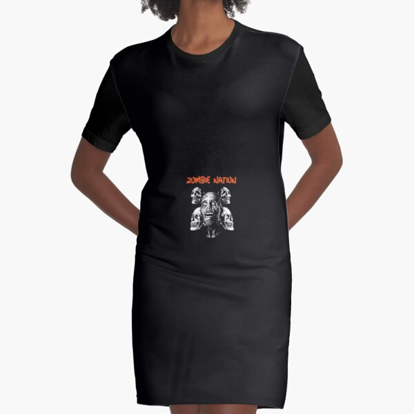 Zombie Nation Graphic T-Shirt Dress