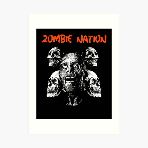Zombie Nation Art Print