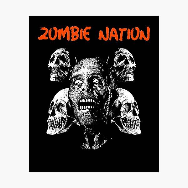 Zombie Nation Photographic Print