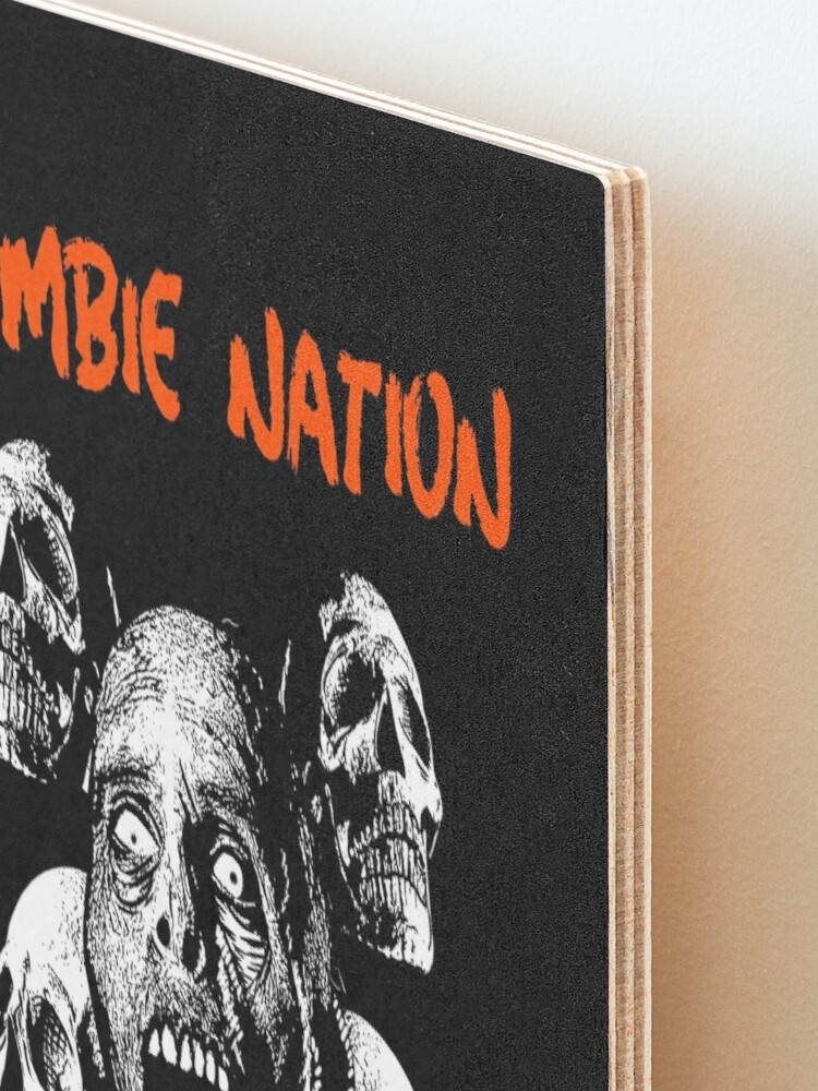 Alternate view of Zombie Nation Mounted Print
