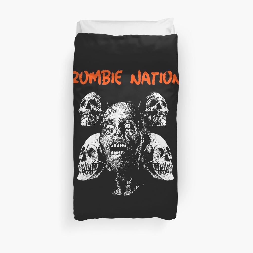 Zombie Nation Duvet Cover