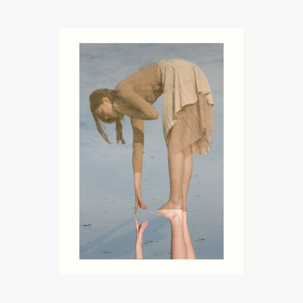 Almost Touching Art Print