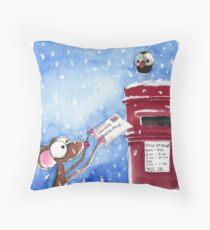 Letter to Santa Throw Pillow
