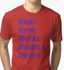 Showtime Lakers Tri-blend T-Shirt