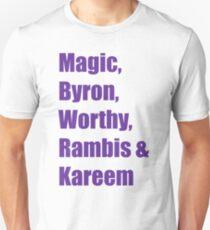 Showtime Lakers Unisex T-Shirt