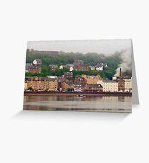 Oban Harbour Greeting Card