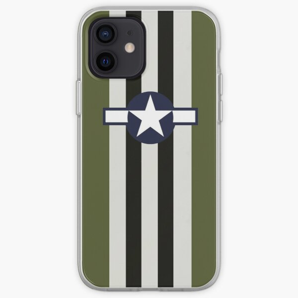 USAAF Roundel with D-Day Stripes iPhone Soft Case
