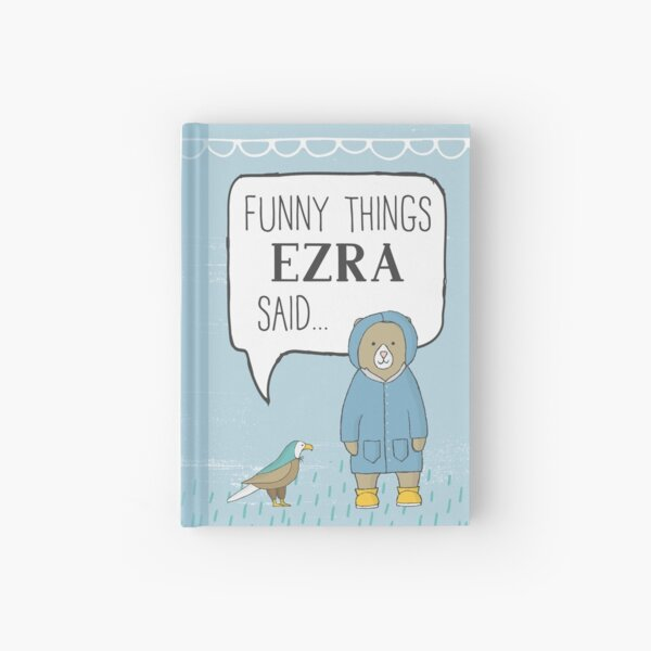 Ezra Hardcover Journal