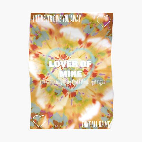 Lover of mine Poster
