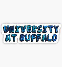 SUNY University at Buffalo Sticker