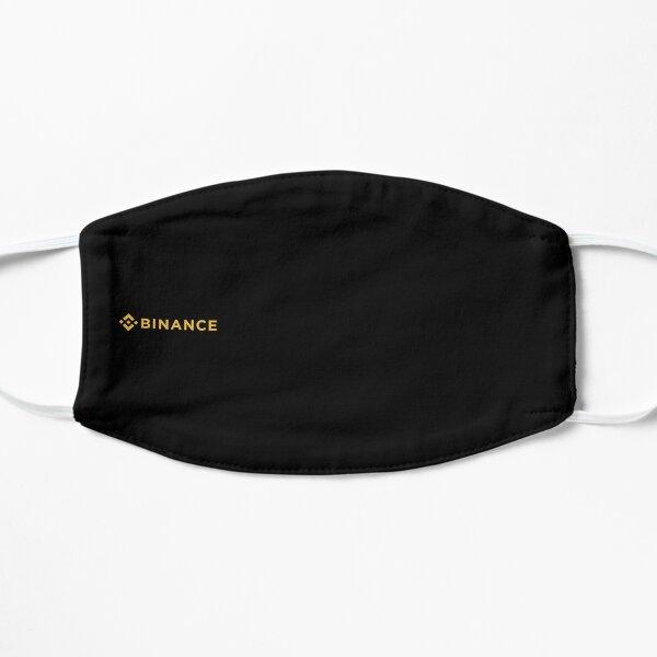 Binance Minimalist Mask Flat Mask