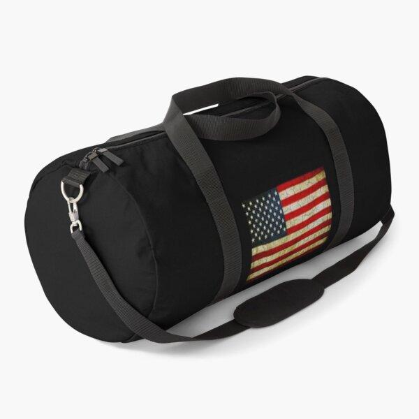 Grunge America flag  Duffle Bag