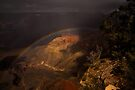 Rainbow in the Grand Canyon by Daniel H Chui