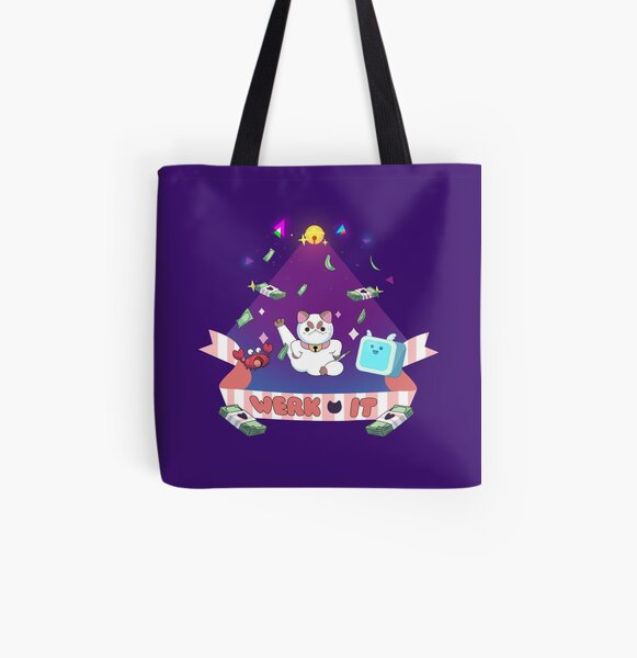 You better WERK All Over Print Tote Bag