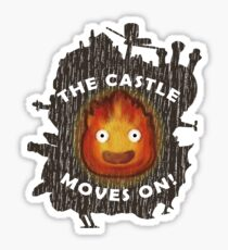 The Castle moves on! Sticker