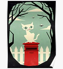 let's meet at the red post box Poster