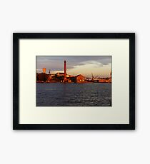 cockatoo island Framed Print