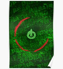 Red Ring Of Death Poster Poster