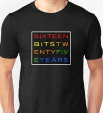 16-bits 25 Years Unisex T-Shirt