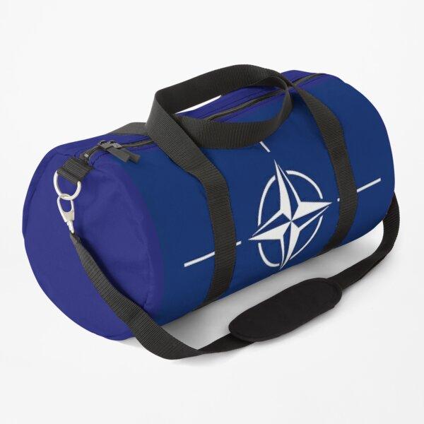 NATO. Flag of the North Atlantic Treaty Organization. Duffle Bag