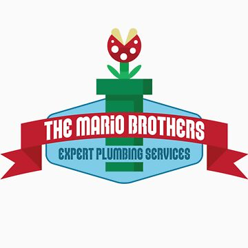 Mario Brothers - Plumbing Experts! by Bazookoidben