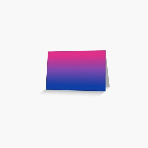 bisexual Greeting Card
