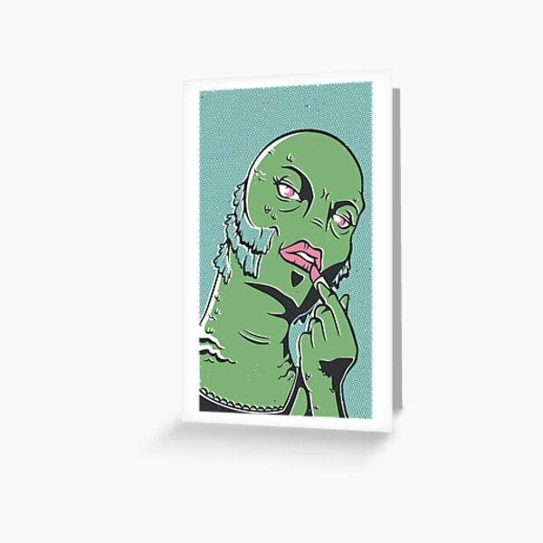 Swampie Greeting Card