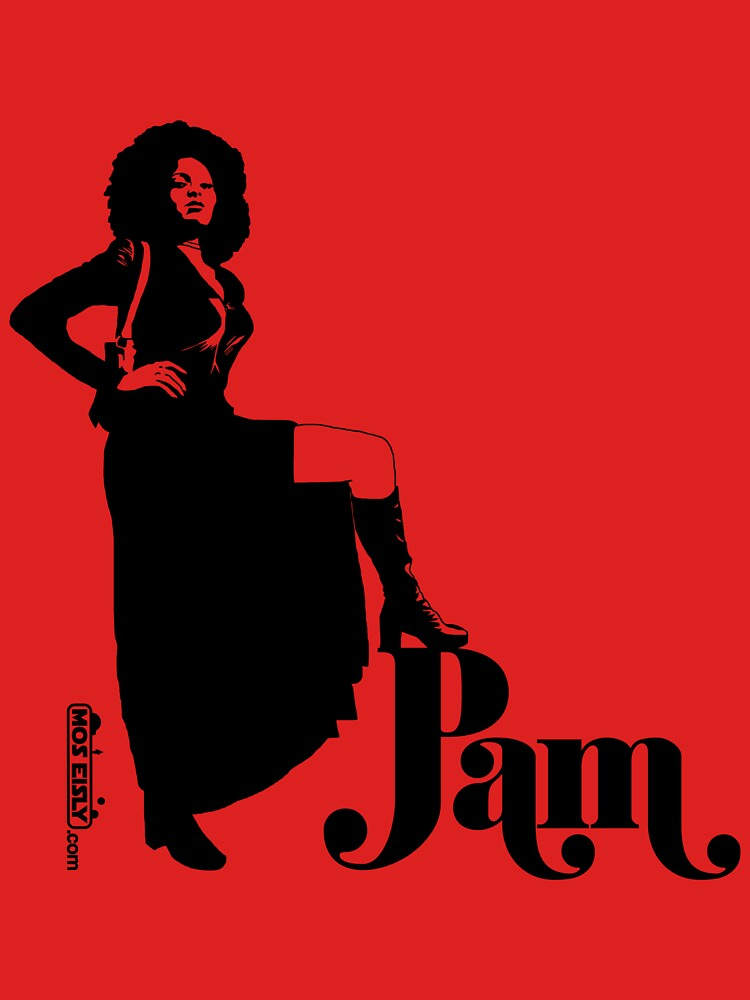 Pam Grier by moseisly
