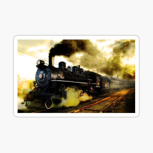 Old Steam Sticker