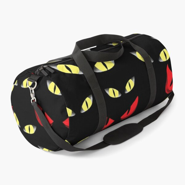 Spooky eyes staring right at YOU Duffle Bag