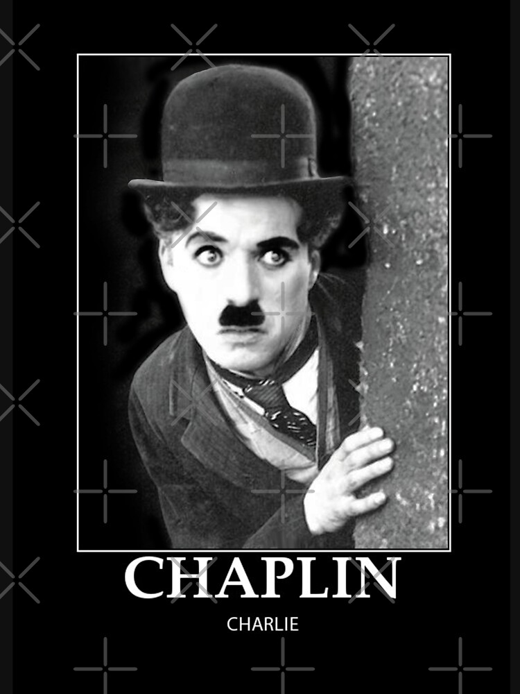 Chaplin - BW - D12 de DecoWords