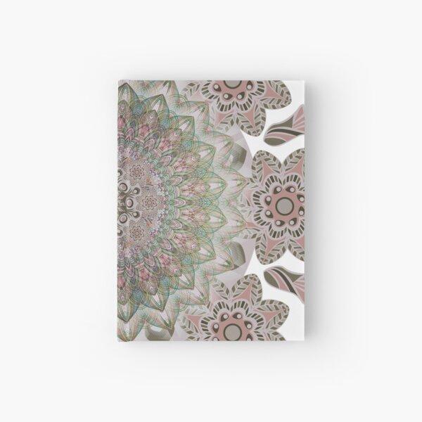 Abstract Mandala Art-PowerFlow Hardcover Journal