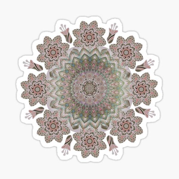Abstract Mandala Art-PowerFlow Sticker