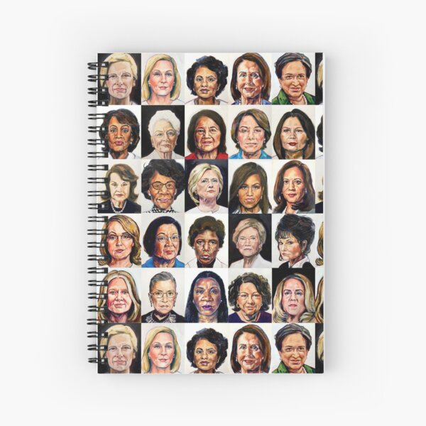 Sheroes Spiral Notebook