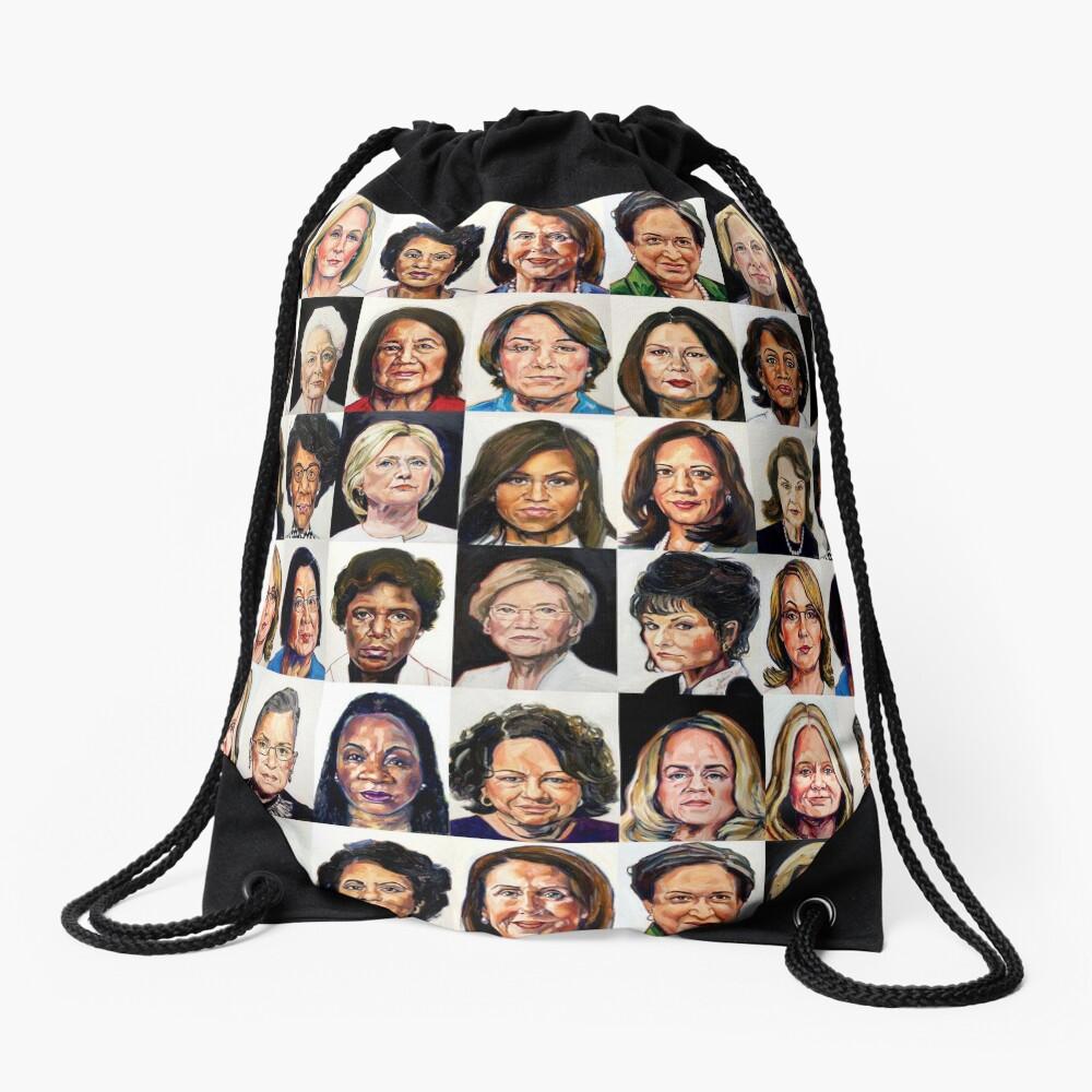 Sheroes Drawstring Bag