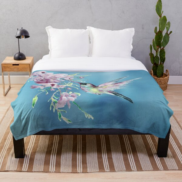 Lilac Dreams Throw Blanket