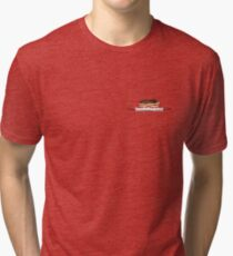 You have the moral backbone of a chocolate eclair... Tri-blend T-Shirt