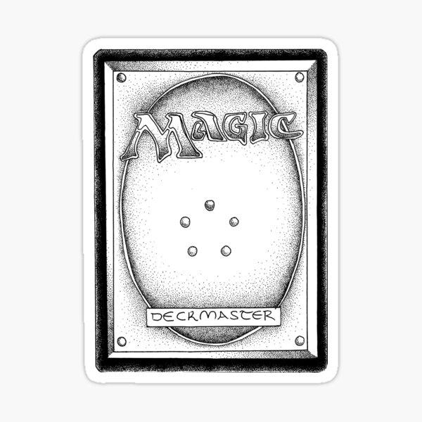 Magic reverse Sticker