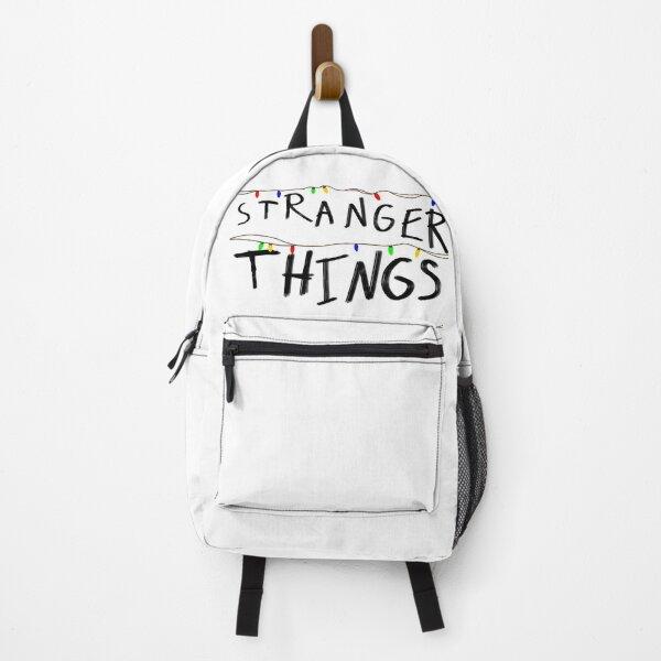 Stranger things logo lights Backpack
