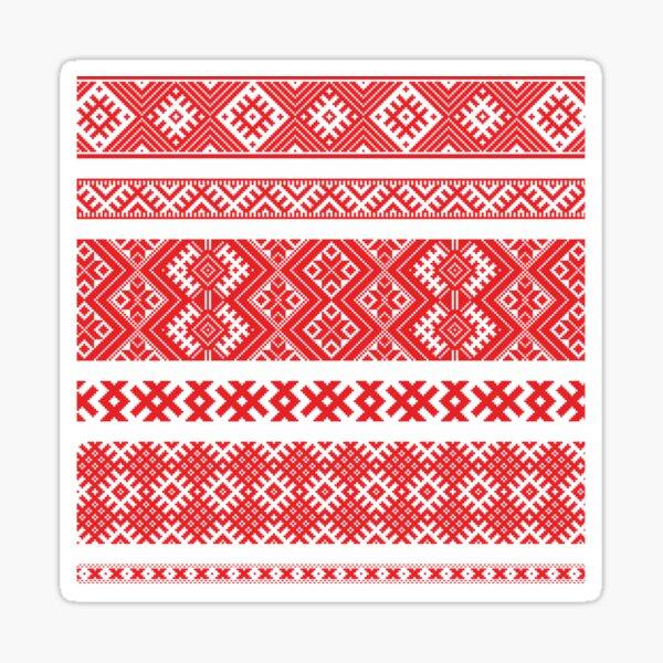 Belarus Vyshyvanka 2020  Sticker