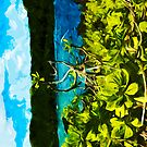 On the Road to Hana Maui Abstract Impressionist by pjwuebker