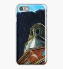 Boston Old State House Abstract Impressionism iPhone Case/Skin